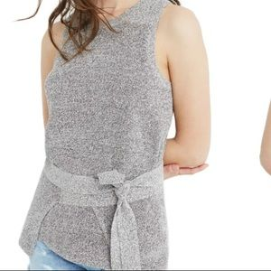 Madewell Tank Tie wrap knitted soft spring b1